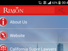 Rimon Law 3.7 Screenshot