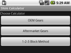 Ring & Pinion Shim Calculator 1.1 Screenshot