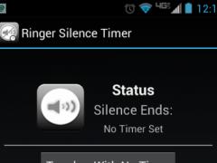 Ringer Silence Timer 1.1 Screenshot