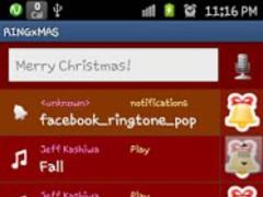 RINGME xMAS Ringtone Maker 1.0.3 Screenshot