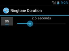 Ringtone Duration 1.0 Screenshot