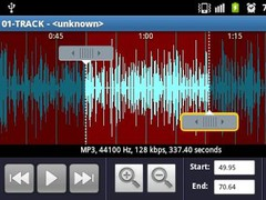 Ringtone Maker and cutter 1.1 Screenshot