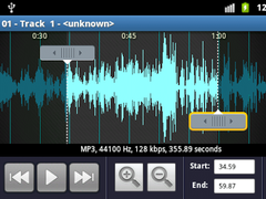 mp3 cutter and ringtone maker ad free apk