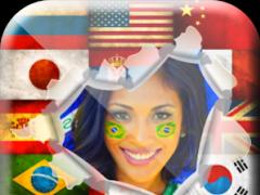 Rio World Flags Photo Frames 1.4 Screenshot
