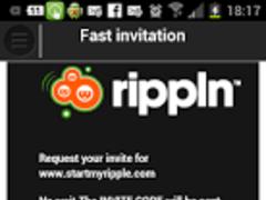 Ripple Super Fast Invite 5.1.10 Screenshot