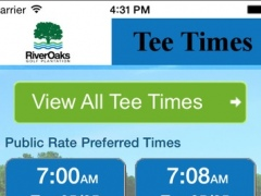River Oaks Golf Plantation Tee Times 1.23.0 Screenshot