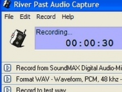 River Past Audio Capture 7.8 Screenshot