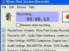 River Past Screen Recorder Pro 7.8 Screenshot