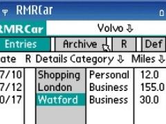 RMRCar for S60 Smartphones 1.04 Screenshot