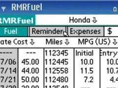 RMRFuel for S60 Smartphones 1.04 Screenshot