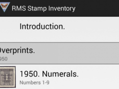 RMS Stamp Inventory 2.0 Screenshot
