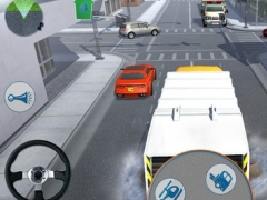 Road Garbage Dump Truck Driver 3D Simulator 1.1 Screenshot