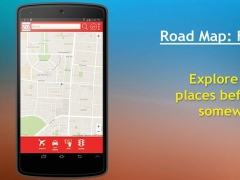 Road Map : Find Places 1.0 Screenshot