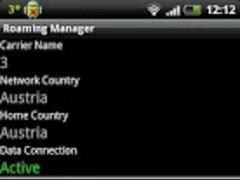 Roaming Manager 1.0.0 Screenshot