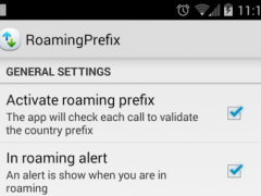 Roaming Prefix 1.1 Screenshot