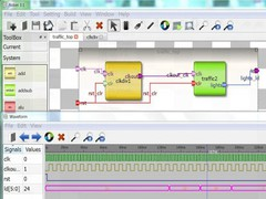 Robei chip design tool 3.1 Screenshot
