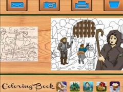 Robin Hood and execution. Coloring book for children 3.2.30 Screenshot