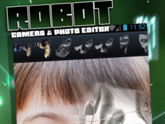 Robot Camera & Photo Editor 1.0 Screenshot