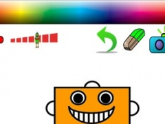 Robot Coloring Page Edition 1.0 Screenshot