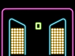 Rock Balls pour down into glowing cups with rock rhythm 1.0 Screenshot