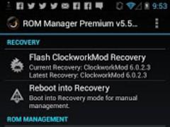 ROM Manager 5.5.3.7 Screenshot