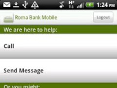 Roma Bank Mobile 3.0.3 Screenshot