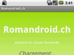 Romandroid.ch 1.0.1 Screenshot