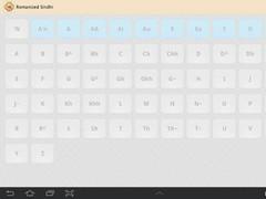 Romanized Sindhi 1.0.2 Screenshot