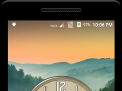 Romantic Clock Live Wallpaper 1.1 Screenshot