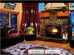Romantic Fireplace LWP Full 1.46 Screenshot