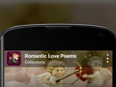 Romantic Love Poems 1.1 Screenshot