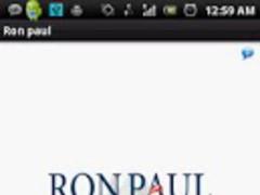 Ron Paul Wallpaper 4.0 Screenshot