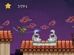 Rooftop Ninja Temple Run FREE 1.0 Screenshot