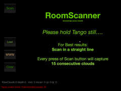 RoomScanner For Project Tango 9.5 Screenshot