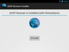 [ROOT]AOSP Browser Installer 4.0.1 Screenshot