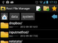Root File Manager Pro 1.0.2 Screenshot
