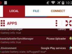 Root Required Logcat 1.1 Screenshot