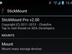 [root] StickMount 3.50 Screenshot