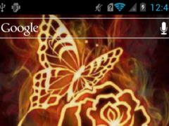 Rose and butterfly live wp 2.1 Screenshot