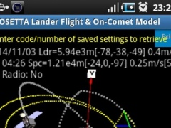 Rosetta Lander Space Maneuvers 1.0.0 Screenshot