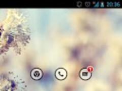 RoundGlassBlue icon theme 1.0 Screenshot