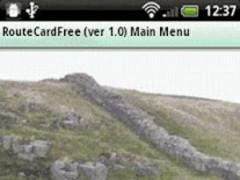 Route Card (Free) 1.01F Screenshot