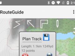 RouteGuide 2.8 Screenshot