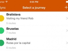 Routes. Planning your journeys 2.9 Screenshot