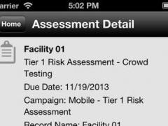 RSA Archer Mobile 1.0 Screenshot