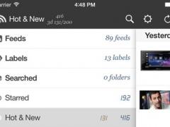 RssBook Free 2.1.2 Screenshot