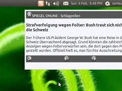 Rub Rss Instant Notifier 1.5 Screenshot