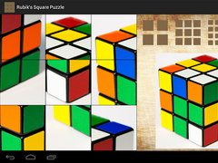 Rubik's Square Puzzle 0.2 Screenshot