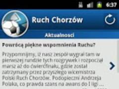 Ruch Chorzów For Fans 1.4.5 Screenshot
