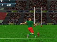 Rugby Flick Kick Shoot 3D 1.0 Screenshot
